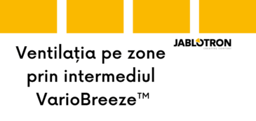 Inovația 5: Ventilația pe zone prin intermediul VarioBreeze™